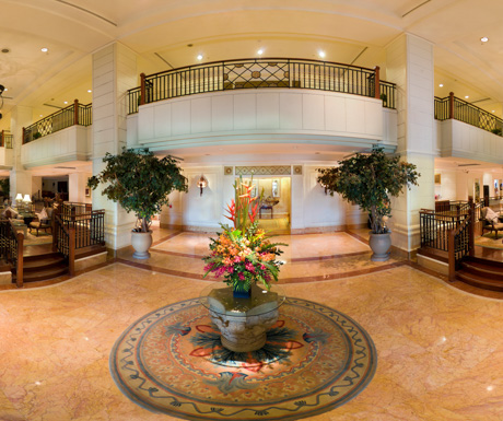 lobby at InterContinental Phnom Penh