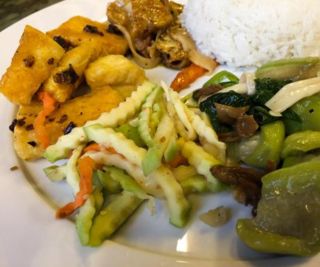 vegan restaurant, vegan food, Hanoi, Vietnam