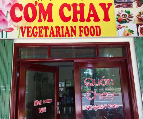 Com Chay An Lac, Ninh Binh, vegan restaurants, Vietnam