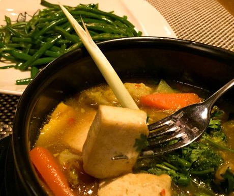 Vegetable curry, tofu, vegan, Vietnam