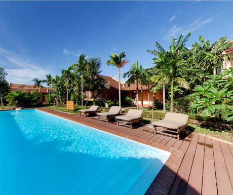 swimming pool, Emeralda Resort, Ninh Binh, Vietnam