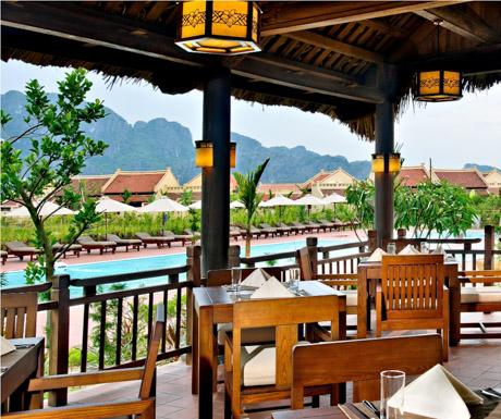 Organics Restaurant, Emeralda Resort, Ninh Binh, Vietnam