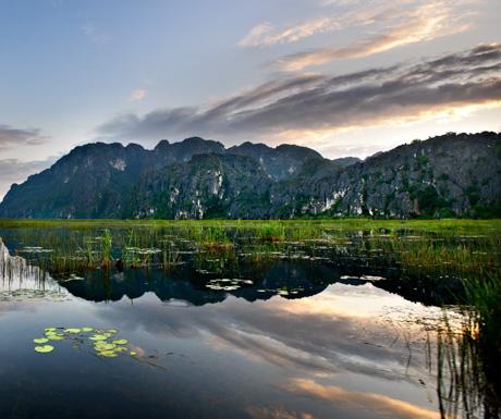Van Long Nature Reserve, Ninh Binh, Vietnam