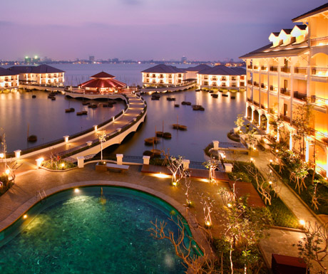 InterContinental Hanoi Westlake, Hanoi, Vietnam, luxury hotels