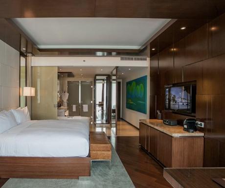 Deluxe Room, JW Marriott, Hanoi, Vietnam, luxury hotel
