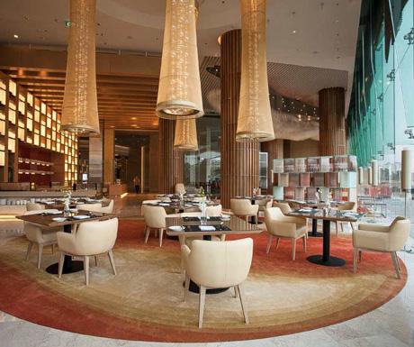 JW Cafe, breakfast, JW Marriott, Hanoi, Vietnam, luxury hotel