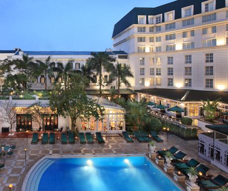 Swimming Pool, Sofitel Legend Metropole Hanoi, Hanoi, Vietnam, luxury hotels