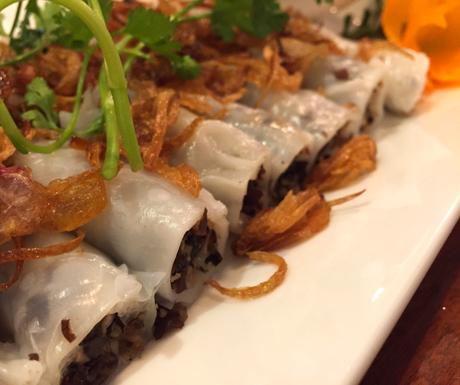 rice paper rolls, vegan food, Hanoi, Vietnam