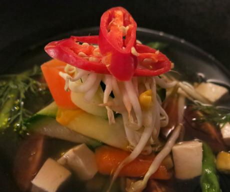 vegan soup, vegan food, Langkawi, Malaysia