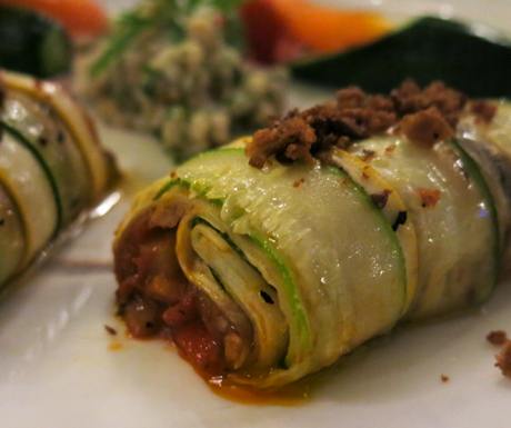 vegan food, plant based, canelloni