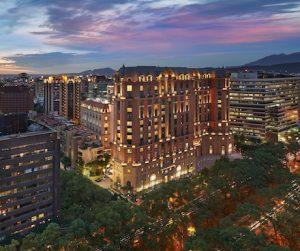 Mandarin Oriental Taipei at Dusk