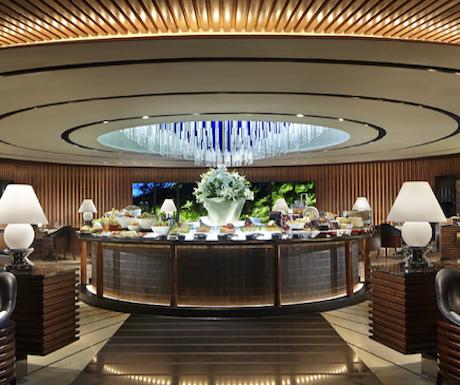 lobby at Regent Singapore