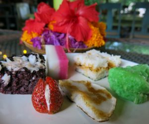 sweet selection from our vegan 'Royal High Tea' at Alaya Resort Jembawan
