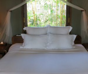 comfortable bed at An Lam Villas