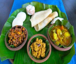 vegan Sri Lankan curries at Anilana Nilaveli