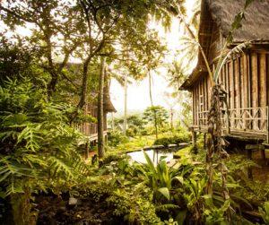 unique and beautiful Bambu Indah in Bali
