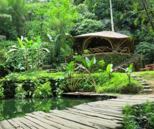 River Warung at Bambu Indah