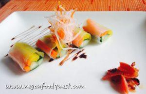 vegan breakfast at Conrad Bali