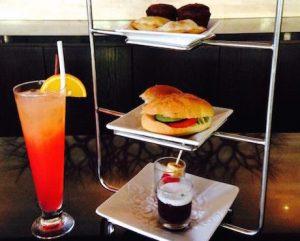 vegan afternoon tea at Conrad Bali