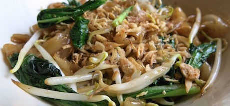 vegan noodles at DoubleTree Hilton Jakarta
