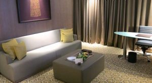 executive suite at DoubleTree Hilton Jakarta