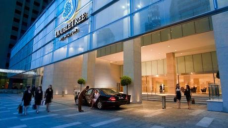 entrance of DoubleTree Kuala Lumpur