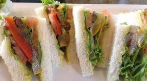 vegan sandwiches at DoubleTree Kuala Lumpur