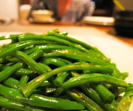 sauteed Cove Beans