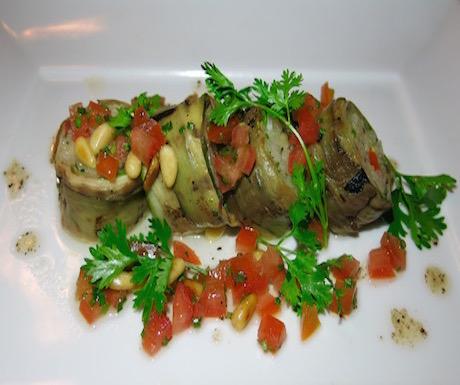 vegan aubergine cannelloni