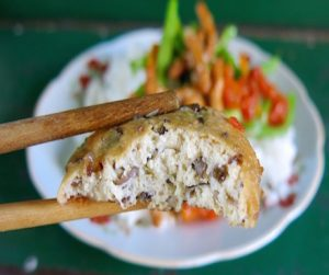 vegan local food in Nha Trang on market tour