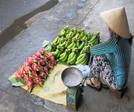 Vietnam market life in Nha Trang