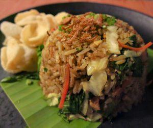 vegan nasi goreng at Four Seasons Langkawi