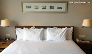 bed at Hilton Bandung