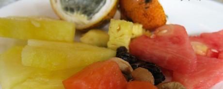 fruit salad at Hilton Bandung
