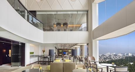 executive lounge at Hilton Kuala Lumpur