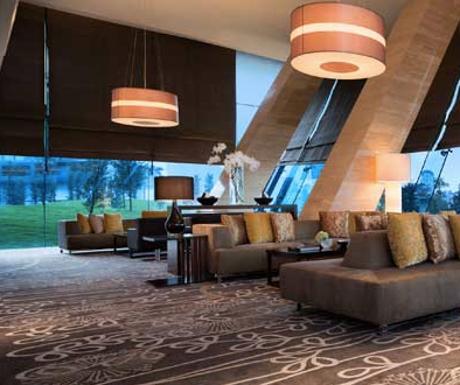 executive lounge at JW Marriott Hotel Hanoi