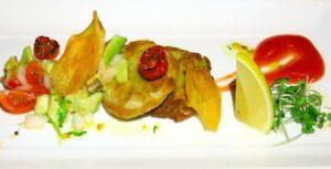 Kanifushi vegan falafel plate