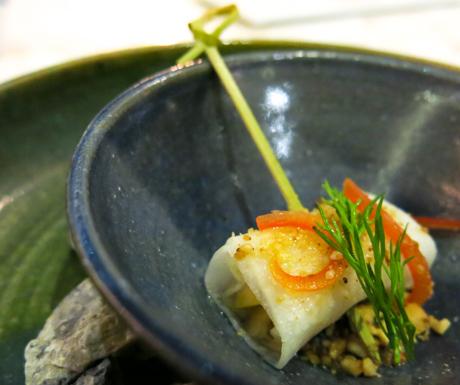 vegan food at Kayu Puti