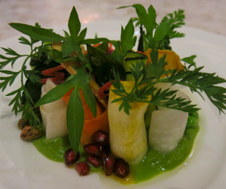 Green Pea and Seasonal Vegetables at Kayu Puti