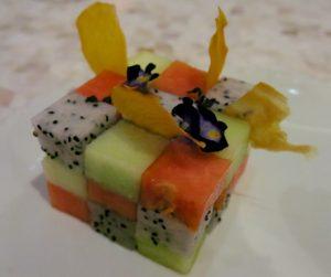tropical fruit Rubik's Cube at Kayu Puti