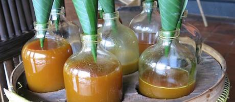 Indonesian jamu drink at Mesa Stila