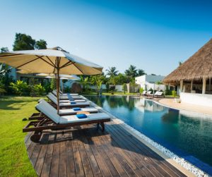 there are 3 pools to choose from at Navutu Dreams in Siem Reap