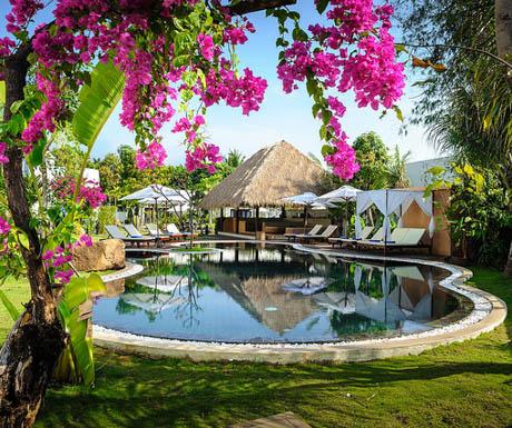 swimming pool at Navutu Dream