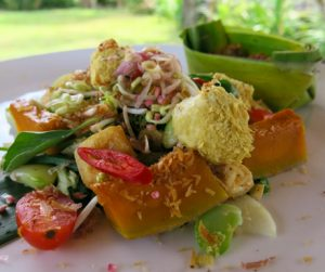 the best vegan gado gado salad in the world