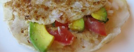 Gluten-free and vegan pancakesat Shangri-La Jakarta