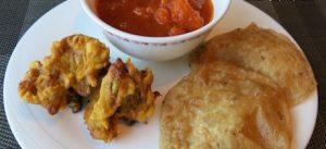 vegan Indian cuisine for breakfast at Shangri-La Jakarta