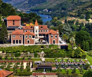 aerial view of Six Senses Douro Valley
