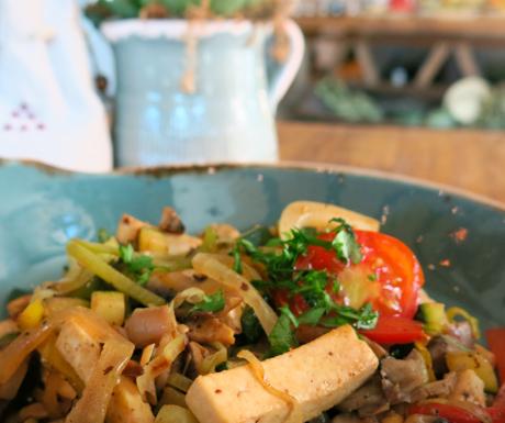 tofu scramble at Six Senses Douro Valley