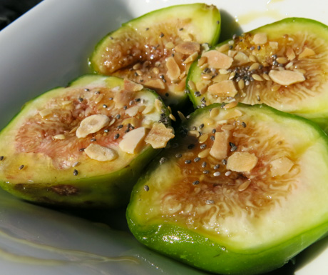 delcious figs for breakfast at Six Senses Douro Valley