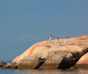 yoga at Six Senses Ninh Van Bay